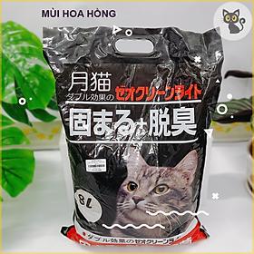 Cát Vệ Sinh Cho Mèo - Cát Nhật 8L - 6 mùi [giao ngẫu nhiên]