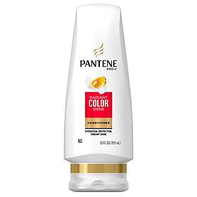 Dầu xả Pantene Pro-V Radiant Color Shine 355ml dành cho tóc nhuộm - USA