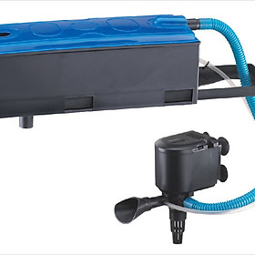 Máy lọc nước bể cá cảnh RS-9900, lọc máng bơm chìm