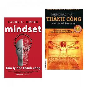 Combo sách kĩ năng sống hay: Tâm Lý Học Thành Công + Những Bậc Thầy Thành Công (tặng kèm bookmark Books)