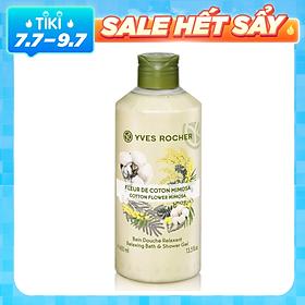 Sữa Tắm Yves Rocher Cotton Flower Mimosa Relaxing Bath & Shower Gel (400ml)