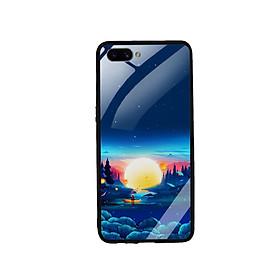 Ốp Lưng Kính Cường Lực cho điện thoại Realme C1 - Moon 10