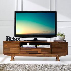 Tủ TV 2 Cánh Coco Gỗ Tràm IBIE LVCOC