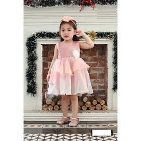 Váy đầm công chúa dự tiệc cho bé gái DBG049 từ 1 2 3 4 5 6 7 8 9 10 tuổi nặng 8 đến 10 15 20 25 30 33 kg