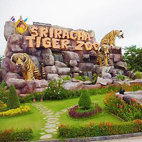 Hình đại diện sản phẩm Công Viên Sriracha Tiger Zoo - Vé Tham Quan