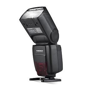 Đèn Flash Không Dây Hỗ Trợ Chụp Ảnh Có Màn Hình Hiển Thị LCD Pin Li-ion 2000mAh YONGNUO YN720 Cho Máy Ảnh Canon/Nikon/Sony/DSLR Đen (1/8000s-2.4G)