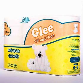 Giấy vệ sinh Glee 6 cuộn 3 lớp cao cấp có lõi