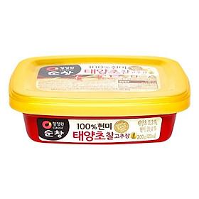 Tương ớt gạo lứt Chung Jung One 200g - 01773