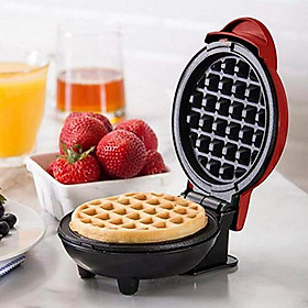 Waffle Maker Metal Non-Stick Round Plate Baking Pan for Restaurant Kitchen