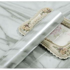 Cuộn 5m dài x 0.6m rộng decal giấy dán tường vân đá hoa cương trắng nhiều mẫu