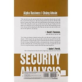 Sách - Phân Tích Chứng Khoán (Security Analysis)