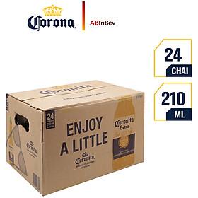Thùng 24 Chai Bia Coronita (210ml / Chai)
