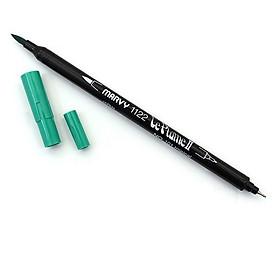 Bút lông hai đầu màu nước Marvy LePlume II 1122 - Brush/ Extra fine tip - Tropical (101)