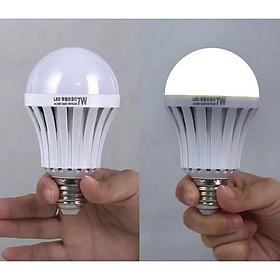 Bóng Đèn 7W/9w/12w/15w Tích Điện Thông Minh LED E27