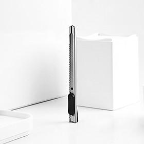 Dao rọc giấy inox (80x9x0.4mm) MG8212 Guangbo