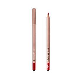 (BẢN MỚI) Chì Kẻ Viền Môi Vacosi Lipliner Pencil No.4 Brick Red Đỏ Gạch