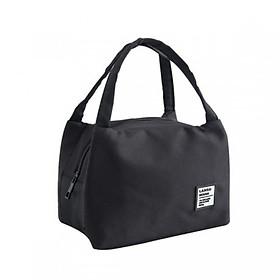 Túi đựng cơm giữ nhiệt bản ngang Classic có khoá kéo + tặng kèm 01 sổ tay