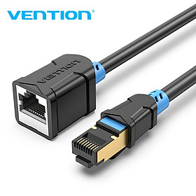 Dây cáp mạng nối dài CAT6 SSTP VENTION dài 1m đến 5m IBLB - Hàng chính hãng