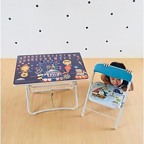 Bộ bàn ghế xếp Trường Thắng cho bé mẫu giáo