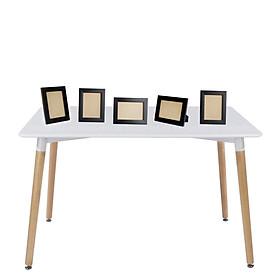 Set 5 khung hình 13x18 đặt bàn màu đen