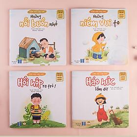 Dòng sách Cả Nhà Cùng Đọc To - Bộ Cảm Xúc Của Con - Sách truyện cho bé 1 - 6 tuổi