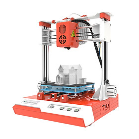 EasyThreed Mini Desktop Children 3D Printer 100*100*100mm Print Size High Precision Mute Printing with TF Card PLA