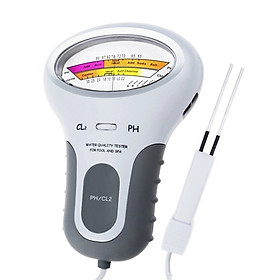 2 in 1 PH Chlorine Meter Tester PC-102 PH Tester Chlorine Water Quality Testing Device CL2 Measuring For Pool Aquarium