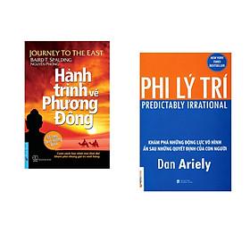 Combo 2 cuốn sách: Hành Trình Về Phương Đông (Bìa mềm) + Phi Lý Trí
