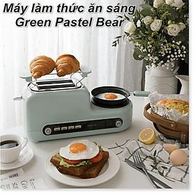 Máy nướng bánh mỳ Bear DSL-A02H3 kèm nồi nấu và chảo chiên
