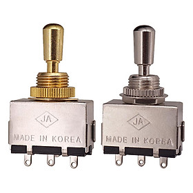 3 - Way   Tone   Toggle   Selector   Switch   Silver   for   Les   Paul