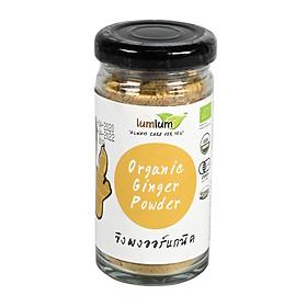 Bột Gừng Hữu Cơ 30g Lumlum Organic Ginger Powder