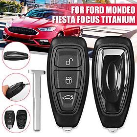 3 Button Remote Key Case Shell for Ford Mondeo Fiesta Focus Titanium Kuga C-Max