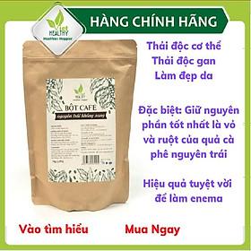 Bột cà phê enema (nguyên trái không rang) Viet Healthy 1kg, dùng cho coffee enema thải độc đại tràng, gan, làm đẹp da