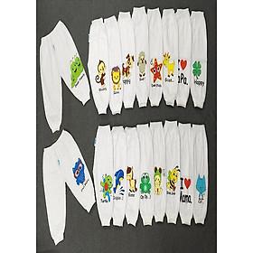 Combo 10 quần dài cho bé trai,gái coton 2 chiều  hình ngẫu nhiên .