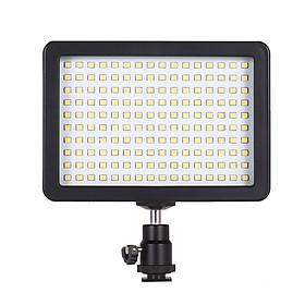 Đèn LED Nhiếp Ảnh Andoer Với Dải Ánh Sáng 5600K Với Công Tắc Điều Chỉnh Độ Sáng Và 3 Tấm Lọc Màu Cho Chụp Ảnh Video Dành Cho Canon Nikon Pentax Máy Ảnh Và Máy Quay Phim DSLR Sony Olympus Đen