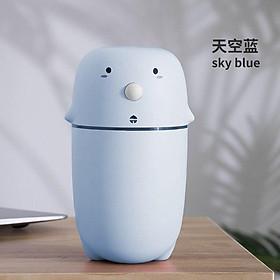 Máy tạo độ ẩm không khí, xông hương liệu mini hình thú cưng dễ thương dành cho gia đình, xe hơi đầu sạc USB có đèn LED 300ML.