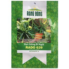 Hạt Giống Bí Ngòi Rado 639