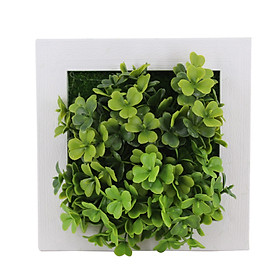 Simulate Plant Photo Frame Wall Ornament Home Office Hotel Decoration