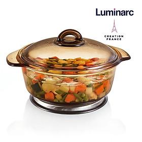 Nồi thuỷ tinh Luminarc Blooming Amberline 2 lít -LUBLH6890
