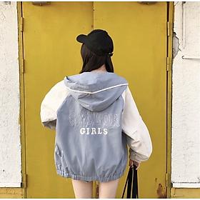 áo khoác dù nữ nhẹ SAILOR GIRLS