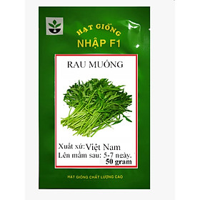 Hạt giống rau muống 50 gram