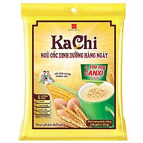 Ngũ Cốc Kachi Canxi Vina Café ( Bịch 20gói x 25gr)