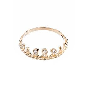Nhẫn vàng DOJI cao cấp 14K 0819R-LAL385