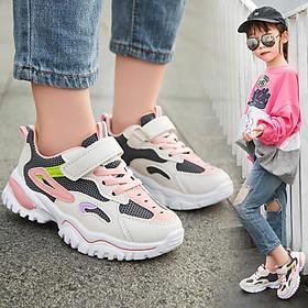 Giày thể thao bé gái bé traicao cấp từ 3 - 16 tuổi siêu nhẹ đàn hồi kháng khuẩn kiểu dáng thời trang G28