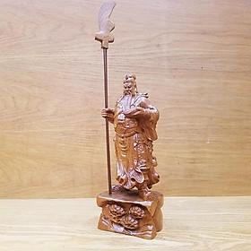 Tượng quan công tượng quan vân trường gỗ bách xanh