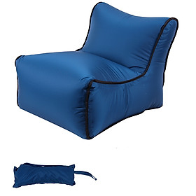 Mini Quick Inflatable Sofa Chair for Beach Garden Outdoor Camping