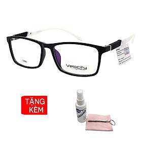 Gọng kính, mắt kính chính hãng Velocity VL36458 018 - Tặng 1 khăn và nước lau kính - khăn màu ngẫu nhiên