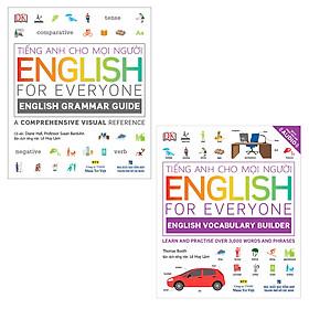 Combo English For Everyone :  English Grammar Guid và English Vocabulary Builder