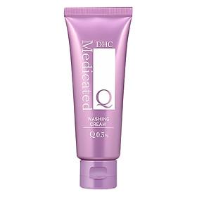 Kem Rửa Mặt Siêu Năng DHC Q Washing Cream (80g)