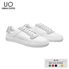 Giày Sneaker Nam Trắng URBAN OUTFITS Phối Màu Cổ Thấp GSK01 Kiểu Thể Thao Hàn Quốc